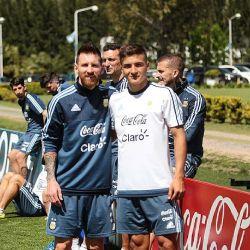 Marinelli con Messi 2