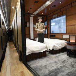 una de las suites del Shiki-shima