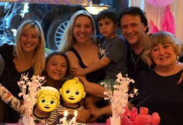 Cumpleaños de sobrina Luisana Lopilato