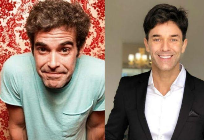 Nicolás Cabré y Mariano Martínez