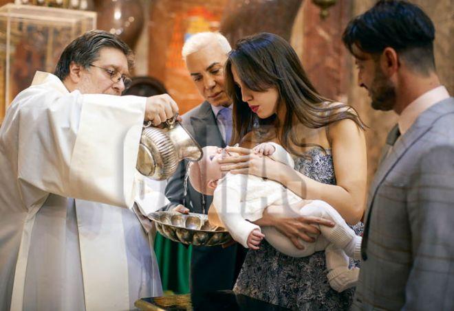 Flavio Mendoza y Dionisio bautismo