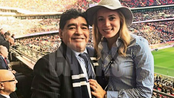 """Rocío Oliva habló de la """"delicada"""" relación de Diego Maradona con Dalma"""