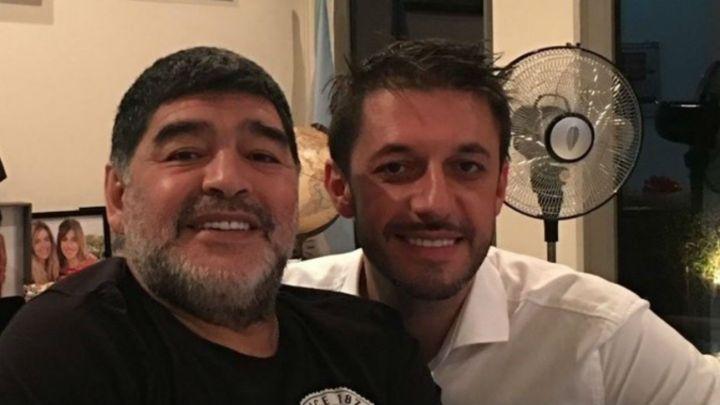 Santiago Lara, el décimo hijo de Maradona rompió el silencio