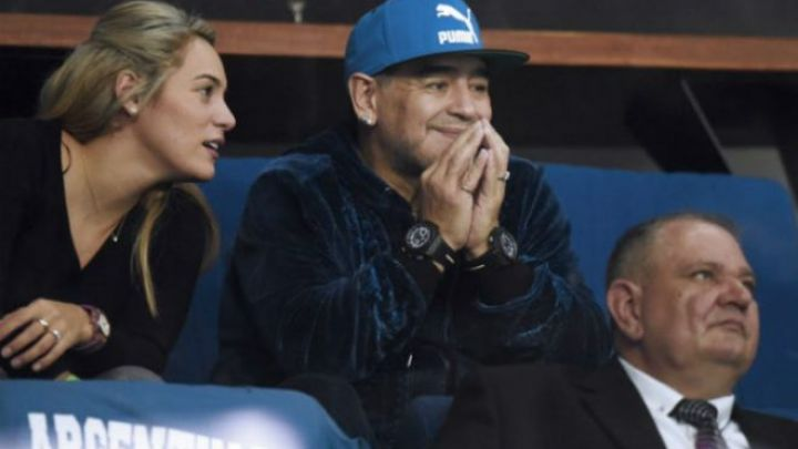 La foto que prueba que Diego Maradona fue al cumpleaños de Rocío Oliva