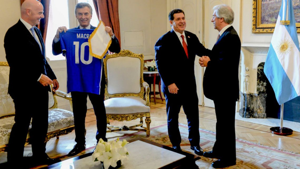 Argentina, Uruguay and Paraguay are planning a joint bid to host the 2030 World Cup – and they may face a rival challenge from the English Football Association.