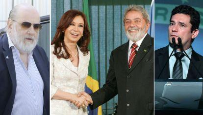 Bonadio y Moro, los posibles verdugos de Cristina y Lula.
