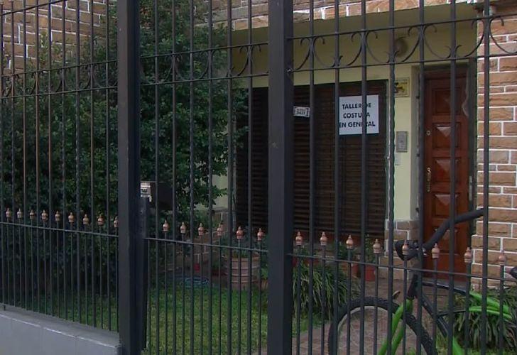 La casa en la que Centeno vive con su esposa desde 2012
