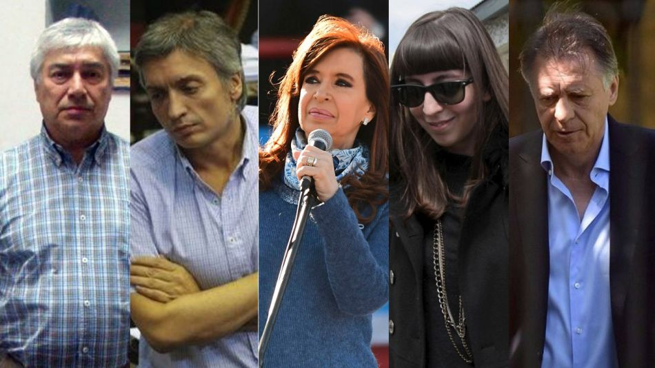Los Kirchner, Lazaro y López