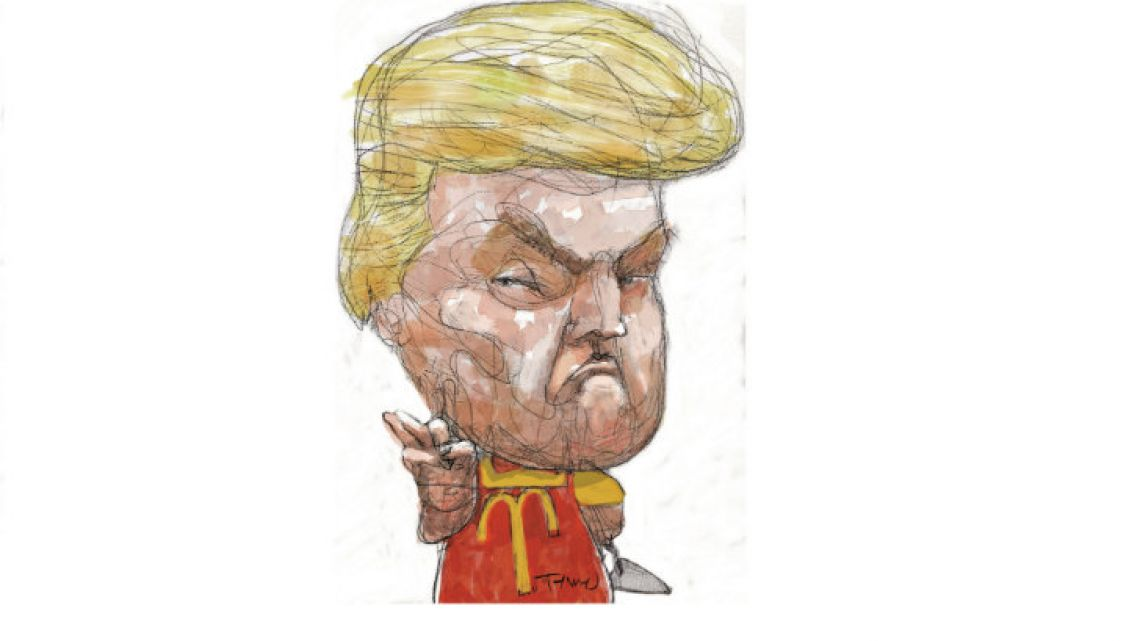 The always controversial Donald Trump.