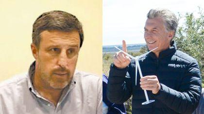 Juan Carlos de Goycoechea y Mauricio Macri