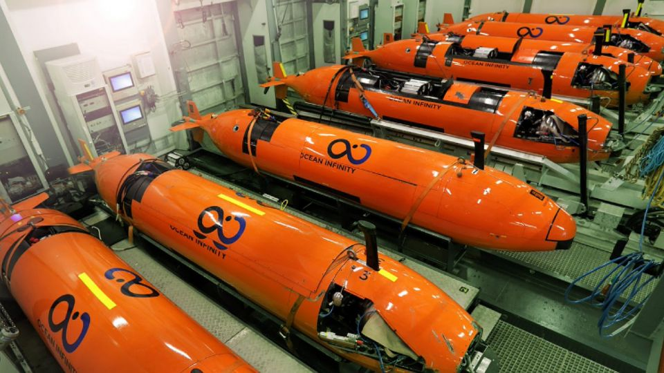 Ocean Infinity submarino