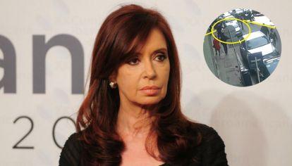 Detectan servicios de inteligencia vigilando a Cristina Kirchner