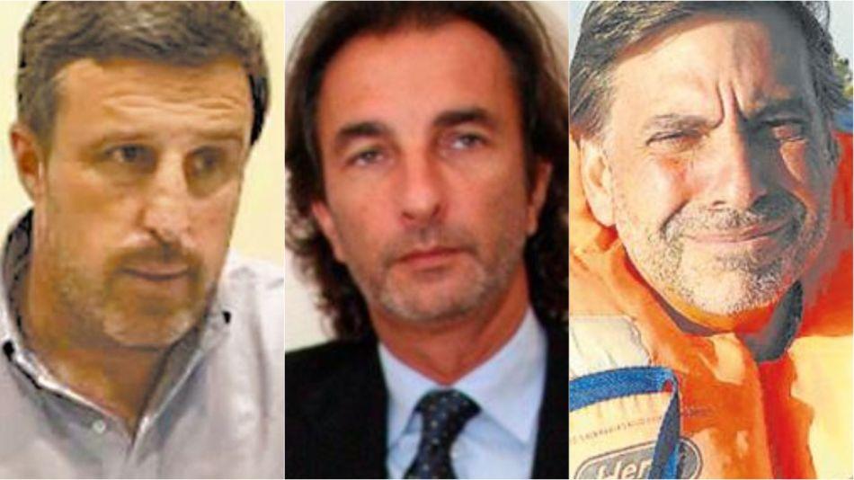 Arrepentidos. Juan Carlos De Goycoechea, Ángelo Calcaterra y Javier Sánchez Caballero.