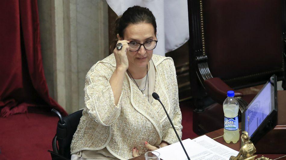 Gabriela Michetti, titular del Senado.