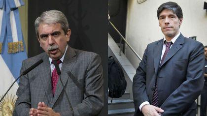 Aníbal Fernández y Juan Manuel Abal Medina, ex jefes de Gabinete kirchneristas.