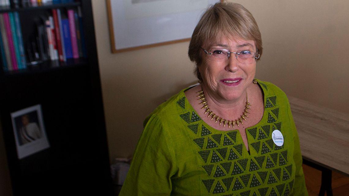 Former Chilean President Michelle Bachelet.