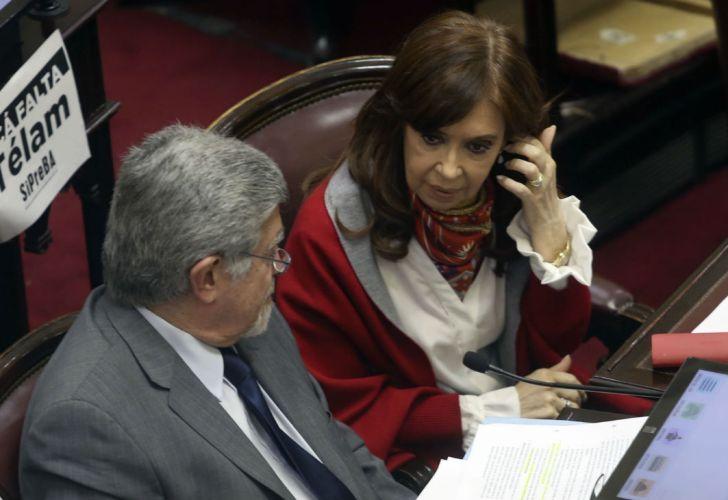 La senadora de Unidad Ciudadana, Cristina Fernández de Kirchner.