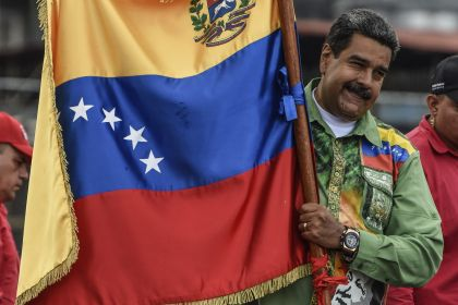 President Nicolas Maduro Holds Final Campaign Rally Ahead Of Venezuelan Elections