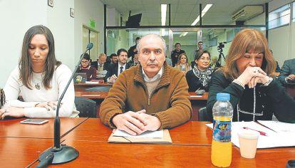 Enjuiciado. López solo aceptó preguntas de su defensora, quien frenó el interrogatorio, y dijo que no respondería más. No dio precisiones sobre su nueva versión.
