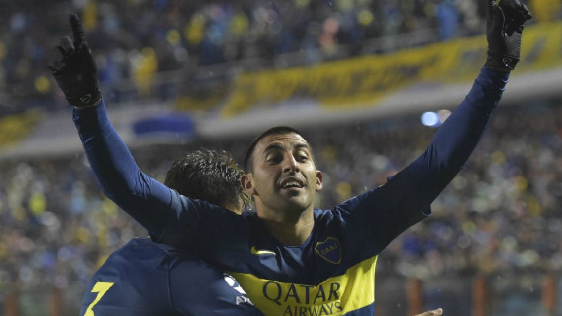 Boca Juniors, an overwhelming favourite to win this year as well.