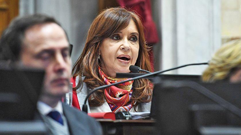 Cristina pidió a los militantes que no la acompañen en Comodoro Py