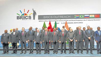 Antesala. El encuentro en Sudáfrica tuvo la mira en la cita de noviembre del G20 en Buenos Aires.