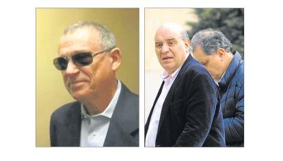 Apuntados. El espía Stiuso y el operador judicial Javier Fernández, que declaró el martes, fueron señalados por Oyarbide.
