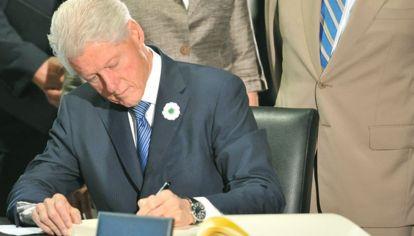 El expresidente norteamericano Bill Clinton
