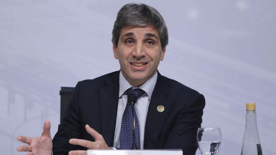 "Luis ""Toto"" Caputo, presidente del Banco Central"