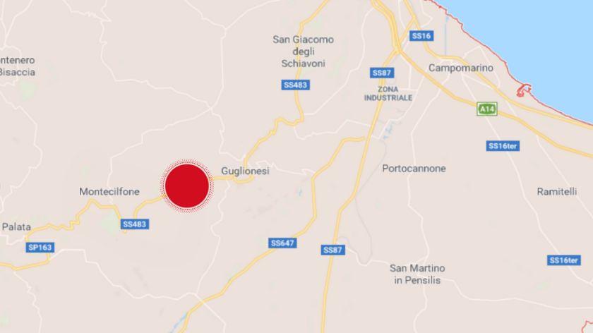 Un temblor de magnitud 5,2 sacude a Italia