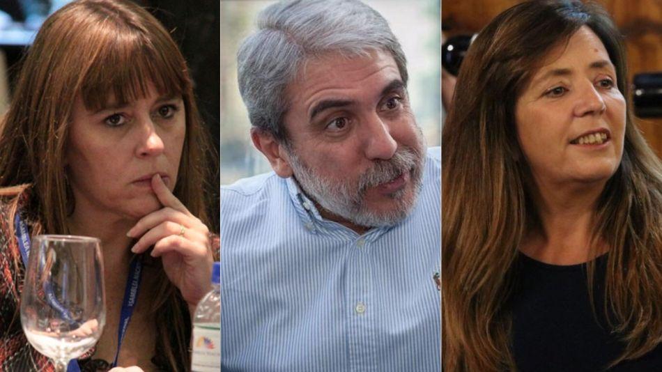 De Tullio, Fernández y Cerruti fueron algunos de los viralizadores de la fake news.