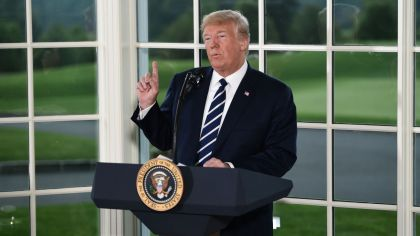 trump conferencia prensa 2018