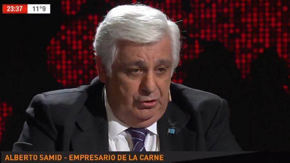 Alberto Samid, empresario de la carne.