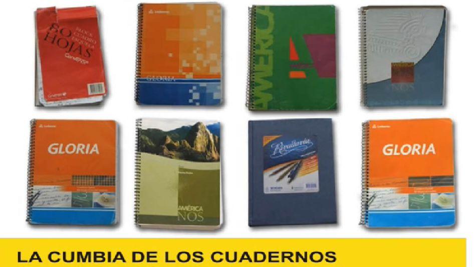 Los cuadernos de las coimas ya tienen su propia cumbia