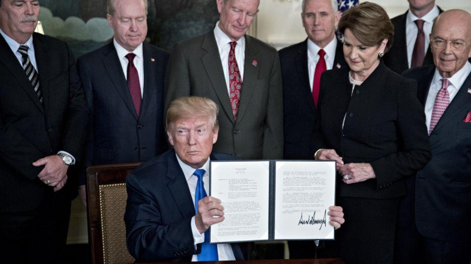 President Trump Signs Presidential Memorandum Targeting China's Economic Aggression