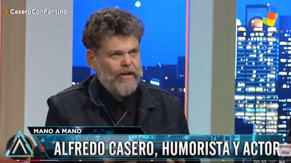 "Alfredo Casero hizo catarsis en ""Animales Sueltos""."