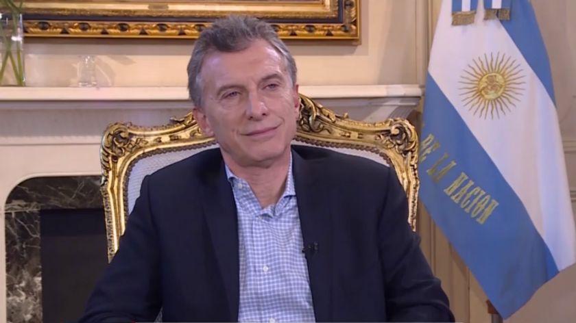 Macri: Muchos dicen que no me conviene que Cristina Kirchner esté presa