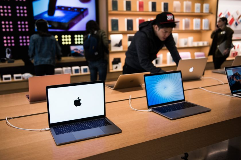 Apple lanzaría una laptop de bajo costo a finales de 2018