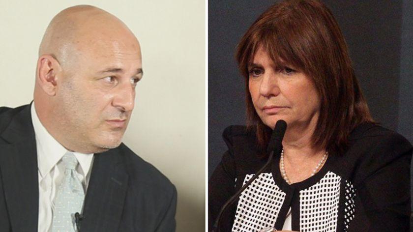 Bullrich denunció al periodista Cúneo por amenazar a Macri