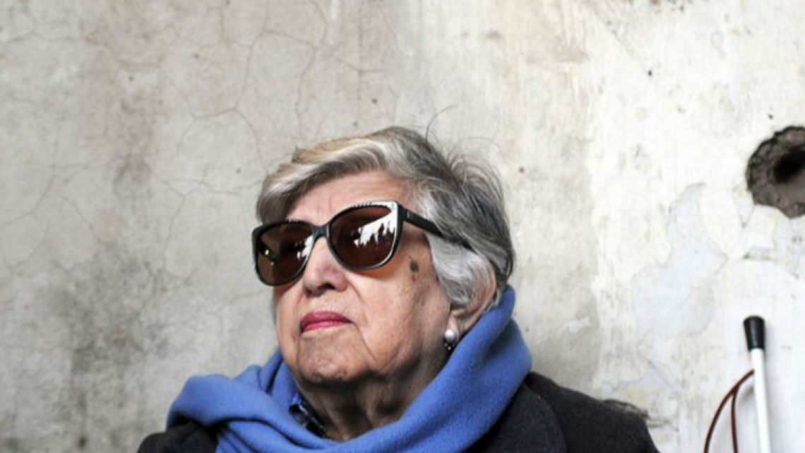 Chicha Mariani, founder and former president of Grandmothers of Plaza de Mayo.