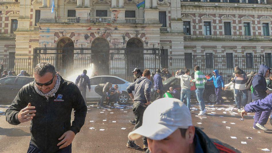 La Plata Incidentes 08212018