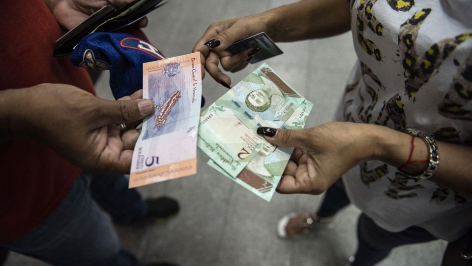 New Banknotes As Venezuela Devalues Currency by 95% Amid Economic Crisis