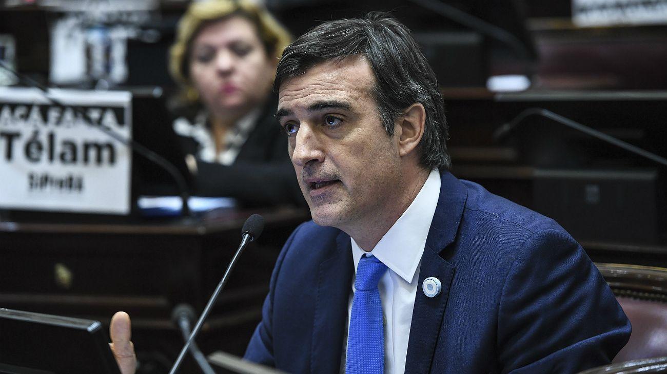 Esteban Bullrich, senador nacional por Cambiemos.