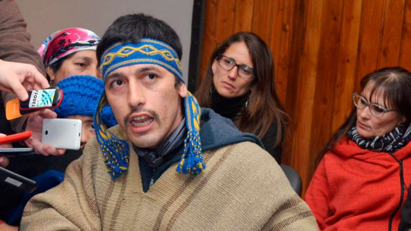 Extraditaron a Chile al mapuche Facundo Jones Huala