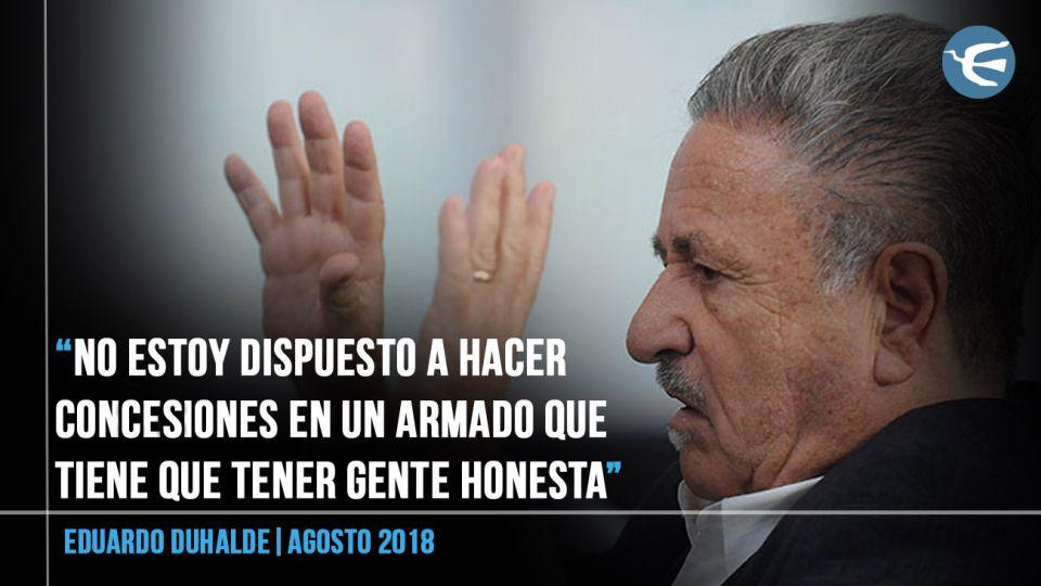 Eduardo Duhalde y Ricardo Alfonsín proponen a Roberto Lavagna como candidato a presidente.