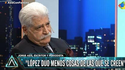 Jorge Asís, con Fantino en