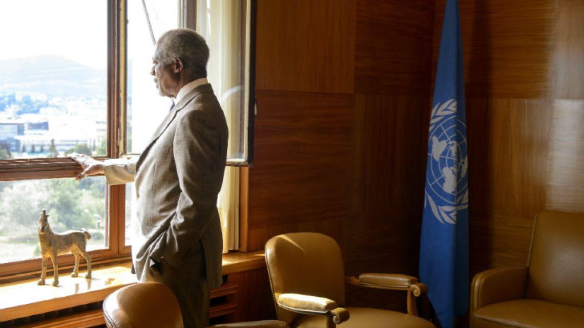 The great Kofi Annan.