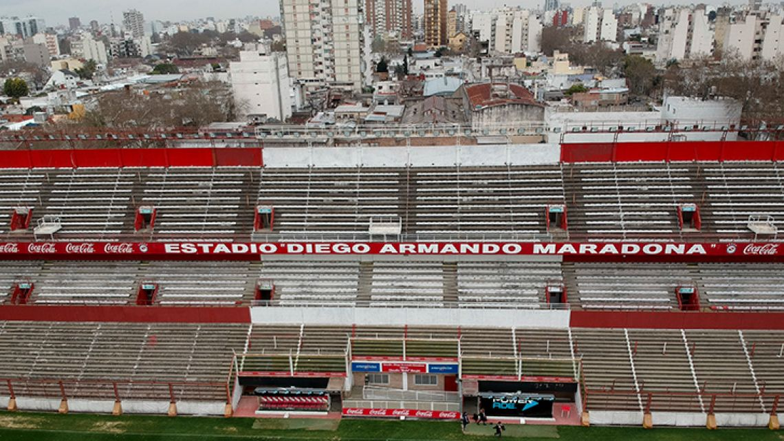 Argentinos Juniors' stadium will change its name, as of this week.