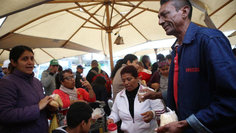 Refugios camino a Perú.