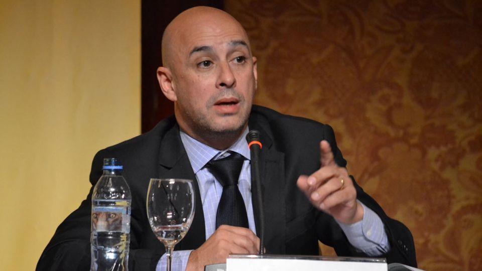 Martín Ocampo, ministro de Justicia y Seguridad